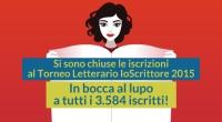 Giovedì 5 marzo al via la prima fase del Torneo Letterario IoScrittore -