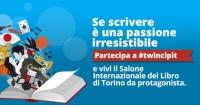 Partecipa a #Twincipit e vivi il Salone Internazionale del libro di Torino da protagonista! -