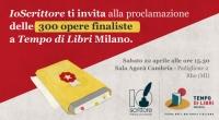 Proclamazione dei 300 finalisti del Torneo Letterario IoScrittore 2017 -