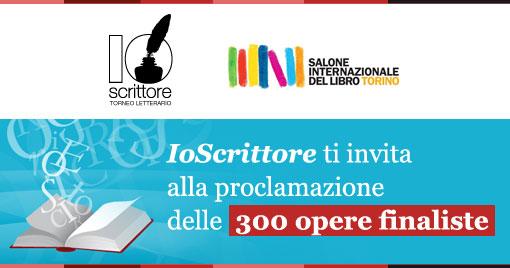 IoScrittore ti invita alla proclamazione delle 300 opere finaliste