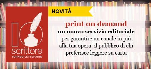 Stampa su carta il tuo e-book e raggiungi sempre più lettori!