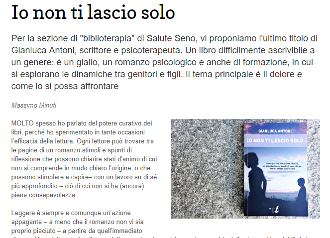 24/09/2018_Io non ti lascio solo_Repubblica