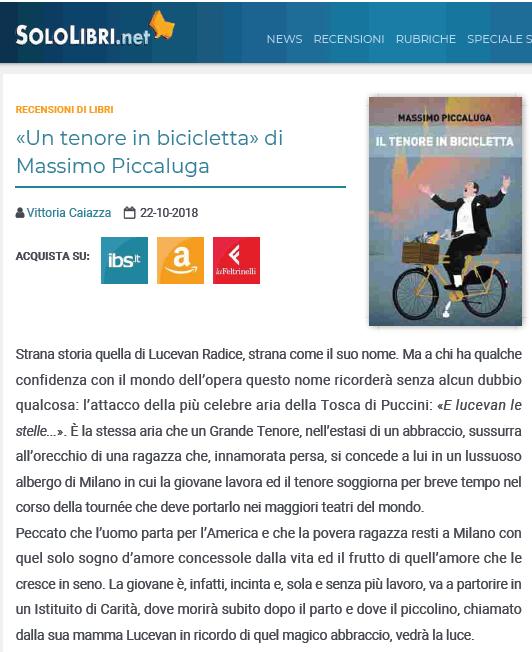 22 ottobre 2018_Il tenore in bicicletta_SoloLibri